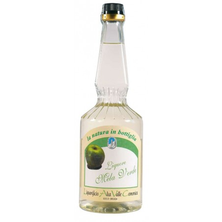 Liquore alla mela verde